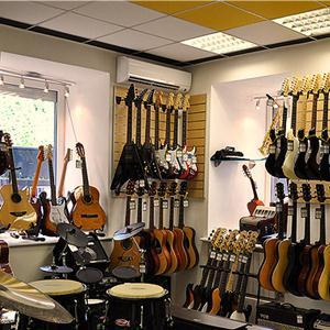 Музыкальные магазины Черского